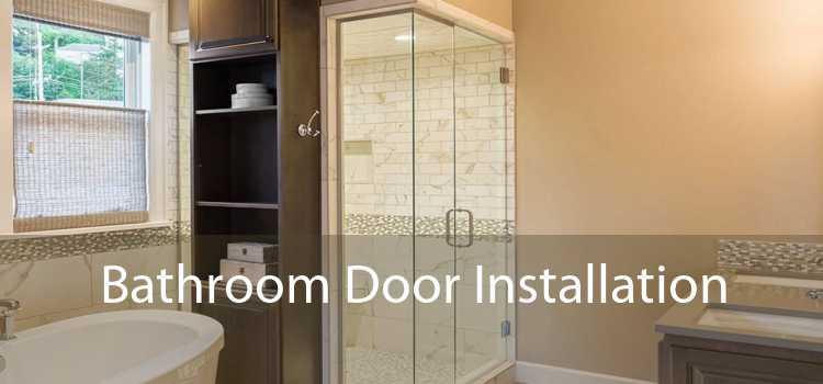 Bathroom Door Installation