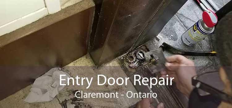 Entry Door Repair Claremont - Ontario